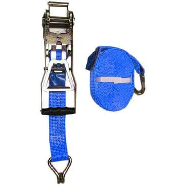 1 x 50mm x 10 metre Ergonomic Reverse RATCHET LASHING STRAPS MBL 5T Tie Down
